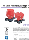 VM Pneumatic Valves PRODUCT Data Sheet